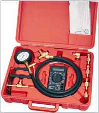 WINMAX prueba de presión de combustible Kit de herramienta del coche automotriz eléctrica Digital multímetro WT04A3019
