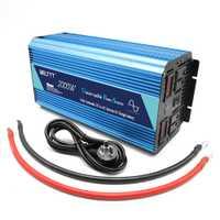 Inversor de energía solar BELTTT UPS 12 V 220 V 2000 W inversor de energía solar con cargador