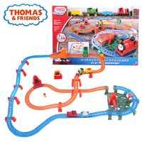 Thomas & Friends metal serie Mini coche juguete vía del tren eléctrico Brinquedos arcilla pozos descubrimiento divertido Thomas juguete para kid