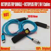2019 nouvelles ventes ORIGINAL poulpe FRP outil/Octoplus FRP dongle + Octoplus FRP USB UART 2 en 1 câbles pour Samsung Huawei lg