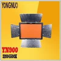 Yongnuo YN900 900 LED bi-color temperatura y brillo ajustable 3200-5500 K inalámbrico lámpara fotográfica para Canon cámaras Nikon
