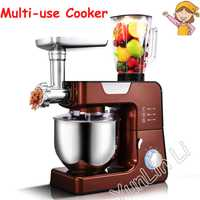 Multi-función de cocina alimentos eléctrico mezclador/hogar máquina de Alimentos/picadora de carne/máquina de fideos BO-C03