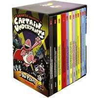 12 livres/coffret la gigantesque Collection de Captain caleçon par eck Pilkey ensemble livre d'histoire anglais bande dessinée pour enfants