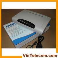 Telepone PBX/cp824/PABX con 8 líneas x 24 extensiones/sistema de teléfono