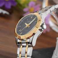 Reloj de pulsera de acero inoxidable resistente al agua elegante de negocios Casual nuevo de 2018 reloj de cuarzo de moda para mujer