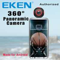 Cámara EKEN novedad 360 Cámara VR 1920*960 Ultra HD Mini Panorama 360 grados cámara de vídeo para teléfono inteligente Android
