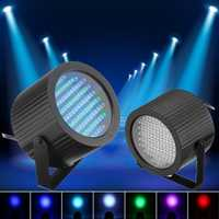 2x86 RGB 25 W 7 canales LED etapa luz DMX láser proyección LED lámpara DJ Disco Club Bar partido del efecto de etapa de iluminación luces