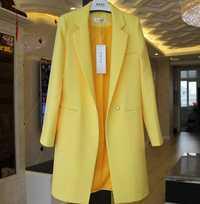 OL breve sólido oculto Breasted largo las mujeres Blazer trajes femenino chaqueta señoras Plus bolsillos de tamaño de negocios Blaser mujer