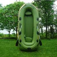 Bote inflable 2-3 personas bote de pesca PVC Kayak barcos con Bomba de paletas asiento inflable