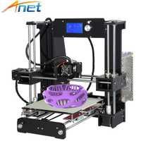 Anet A8 A6 3D Impresora fácil de montar Reprap i3 3D Kit de impresora DIY de gran tamaño de alta calidad extrusión de aluminio con filamentos de regalo