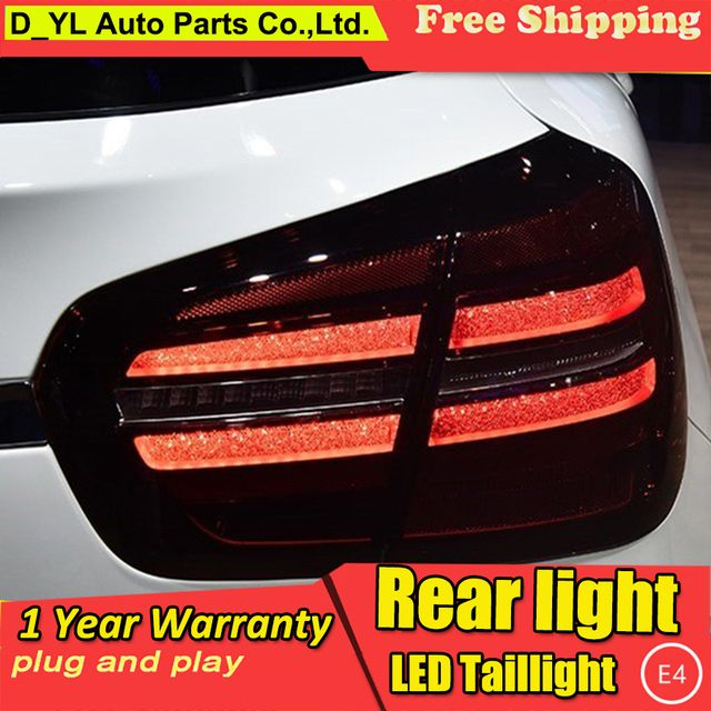 XLO US $810.00 DY_L Car Styling for Mercedes-Benz GLA180 GLA200 GLA220 GLA260 LED 2017 Taillight Rear Lamp Parking Brake Turn Signal Lights