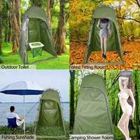 Tienda de campaña al aire libre para la ducha tienda de baño Durable portátil para la playa Wigwam Cambio de habitación tienda de playa Wigwams