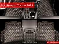 Interior del coche estera del piso de Pat cubierta protectora estilo de coche accesorios para 2015 de 2016 Hyundai Tucson 2017, 2018 de 2019 3TH