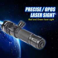 Táctica mira láser verde ajustable designador láser verde, Caza mira láser G27