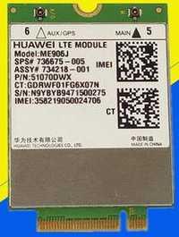 4G tarjeta WLAN para HUAWEI modelo ME906J 3G 4G WWAN módulo LTE Quad-band WCDMA GPS NGFF inalámbrico interno M.2 tarjeta