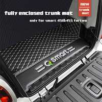 Coffre arrière en cuir pour voiture smart 451 fortwo smart 453 fortwo 2009-2019