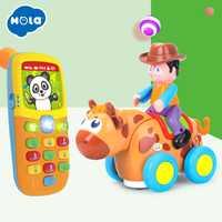 Eletronicos Action animaux jouets Puzzle Brinquedos Bebe musique Mobile bébé jouets livraison gratuite Huile jouets 838B & 956