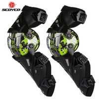 Moto scoyco Genou Protection Motocross garnitures de Protection Gardes Motosiklet Dizlik Moto Joelheira équipement de Protection Genouillères