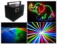 Disco luces láser etapa 2,5 W RGB láser DT40K pro + Flightcase rojo 635nm/1 W G500mW... b1W