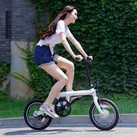 Genuino xiaomi inteligente de bicicletas bicicleta portátil Qicycle e bicicleta plegable pedelec ebike eléctrico bicicleta asistida