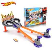 Hot wheels 2018 pista juguete modelo de coche niños juguetes plástico Metal miniaturas coches máquinas juguetes para niños Brinquedos educativos 1:43