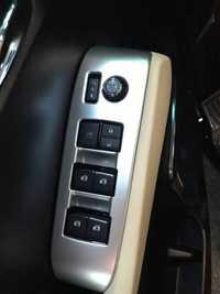Ventana interruptor panel TRIM plata color cromado interior del coche accesorios para vellfire alphard 2015