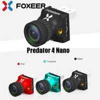 Foxeer depredador 4 Nano Super WDR 4ms baja latencia 1000TVL FPV Racing Cámara OSD 4:3/16:9 NTSC/ PAL para Dron RC