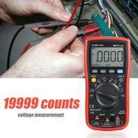 19999 condes multímetro Digital RM219 True-RMS NCV frecuencia apagado automático AC DC amperímetro de tensión corriente Ohm Transistor probador