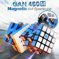 GAN 460 M Cube magnétique 4x4 Cubes magiques 4x4x4 Gan 460 M vitesse Gan460 M Cubo Magico 4*4 Puzzle professionnel sans colle Gan Cube