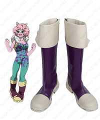 BOKU no Hero Academia mi héroe Academia mina ashido Botas Cosplay anime Zapatos