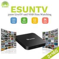 TX5PRO con 1 año RoyalTV/ESUNTV/LuckyTV configurado inteligente IPTV Set Top Box TV Android 1/ 8g Quad Core árabe Europa IPTV