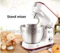 Electrodomésticos batidoras de pie pastel pan de masa mezclador máquina 600 W mezclador de alimentos