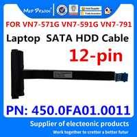 El dragón loco marca portátil nuevo cable HDD SATA HDD Disco Duro cable conector de cable para Acer VN7-571G VN7-591G VN7-791 450.0FA01.0011