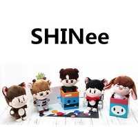 SGDOLL KPOP Shinee felpa Onew Jonghyun KEY Min Ho Taemin Animal muñeca de juguete para niños mujeres hombre regalo nueva moda