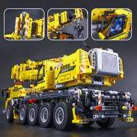20004 nuevo 2606 piezas técnica de potencia de Motor de grúa móvil Mk II Modelo Kits de construcción de bloques de ladrillos cumpleaños LegoINGlys regalo 42009