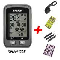 IGPSPORT iGS20E inteligente impermeable IPX6 GPS computador camino de MTB bicicleta deporte velocímetro cuentakilómetros titular + regalo gratis
