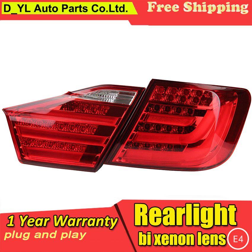 UMQ US $262.50 Car Styling for Tail Lights 2012-2014 Toyota Camry LED Rear Light Fog light Rear Lamp DRL Brake+Park+Signal