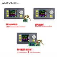 DPS8005 LCD Digital programable voltaje corriente constante de paso bajo módulo de fuente de alimentación convertidor Buck DC 0-80,00 V 0-5.100A