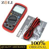 Pantalla LCD UNI-T UT139B multímetros digitales eléctricos verdaderos RMS LCR Meter UT139B Handheld Tester Multimetro amperímetro en stock