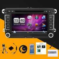 Coche dvd radio GPS navigator para VW Volkswagen passat b6 sintonizador de Radio/MP3/USB/SD/Bluetooth /SWC/Control remoto mapa libre y canbus