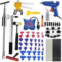 La República Democrática Popular herramientas para Kit de coche instrumentos del cuerpo del coche Kit de reparación de extractor de abolladura eliminación Dent elevador herramienta taza de succión para coche abolladuras