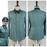 Uniforme alemán Cosplay traje abrigo solo hecho a medida