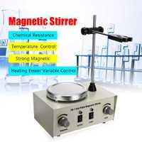 79-1 1000 110 V 220 W 250 ml placa caliente agitador magnético Calefacción de laboratorio mezclador de Control Dual US/AU/EU No ruido/vibración fusibles protección