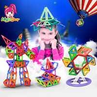 Mylitdear 79-175 piezas bloques magnéticos juego de construcción educativa modelos y juguete de construcción ABS imán diseñador niños regalo educativo