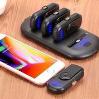 Mini portátil banco de potencia 5 FingerPow de carga magnética para iPhone Samsung Micro de tipo C teléfono móvil banco de energía cargador de dedo Pow