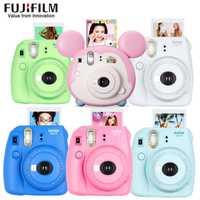 Original Fujifilm Fuji Instax Mini 9 cámara fotográfica instantánea + 20 hojas Fujifilm Instax Mini 8/9 películas