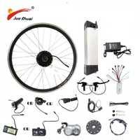 JS Venta caliente 36 V 48 V bicicleta eléctrica Kit de batería de la caldera de 250/350/500 W de rueda de Motor LED LCD Ebike e bicicleta eléctrica Kit de conversión