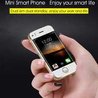 Original SOYES 6 s Super Mini Android Teléfono móvil inteligente MTK6572 Dual Core Dual SIM Dual standby desbloqueado móvil teléfono