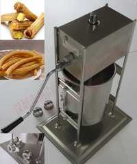 Envío gratis ~ fabricante de churros españoles de 15 l con 3 tipos de modelos de parrilla para gofres