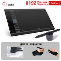 UGEE M708 10x6 pulgadas tableta Digital 8192 de sensibilidad a la presión creativa Tablet firma de diseño de dibujo escribiendo pintura diseñador